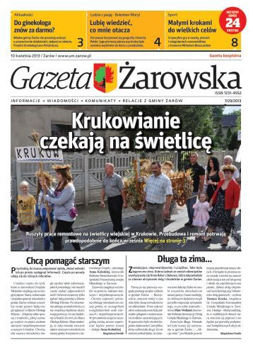Gazeta Żarowska Nr 7/2013 - Gmina