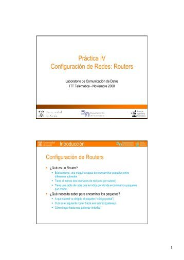 4 - Configuración de redes IP con routers Teldat - it/aut/UAH