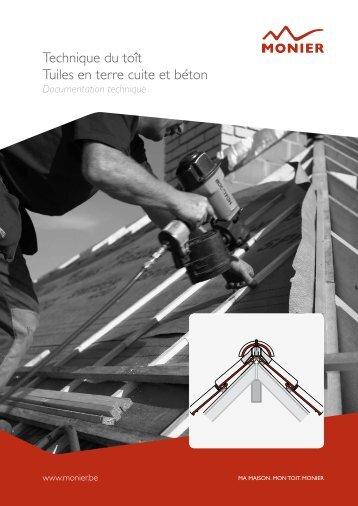 guide technique de toitures - Monier