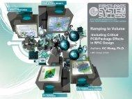 Ramping to Volume – Including Critical PCB & Packaging Effects in ...