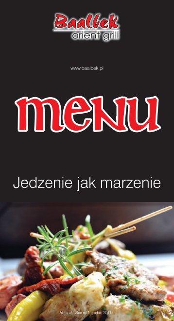 Kliknij, aby zobaczyć menu lokalu - zRestauracji.pl