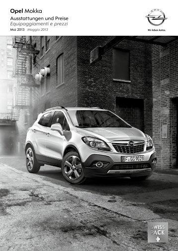 Mokka Listino prezzi - Opel