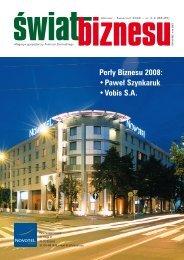 Przeczytaj/pobierz Świat Biznesu 3-4/2009