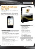 Mobile Relations for ACT! - Anywhere.24 - Page 2