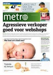 Agressieve verkoper goed voor webshops - Metro