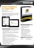 Mobile Relations for Sage CRM - Anywhere.24 - Page 2