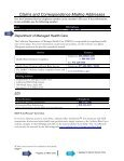 Claims and Correspondence Mailing Addresses - Anthem - Page 4