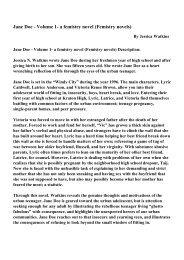 Jane Doe - Volume 1- a femistry novel (Femistry novels)