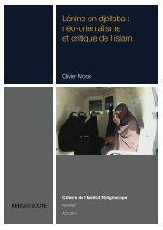 néo-orientalisme et critique de l'islam - Religioscope