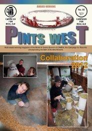 Pints West - Bristol & District CAMRA