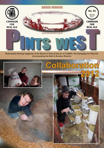Pints West - Bristol & District CAMRA