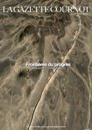 Frontières du progrès - ACDD - Augustin Cournot Doctoral Days