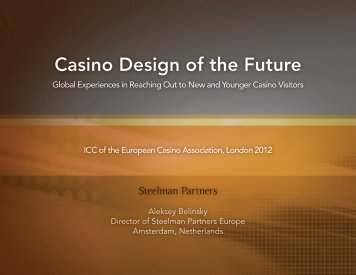 Casino Design of the Future - Totally Gaming