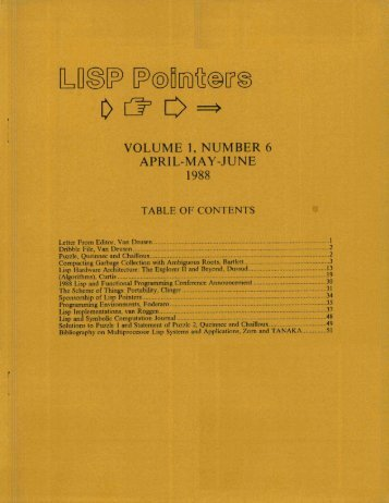 'VOLUME 1, NUMBER 6 APRIL-MAY-JUNE