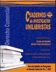 Directoras de Proyecto Investigadores - Universidad Libre Sede ...