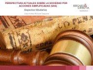 Aspectos tributarios - José Andrés Romero Tarazona - Legis