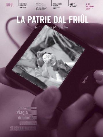 Musiche furlane - La Patrie dal Friûl