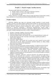 Projekt 3 – Projekt wstępny i analiza masowa Projekt wstępny - ITLiMS