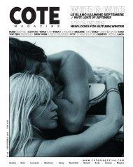 COUVERTURE 35 - Cote Magazine