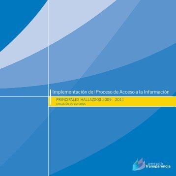 Implementación del Proceso de Acceso a la Información