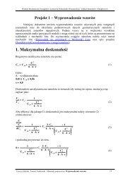 Przydatne wzory - wyprowadzenia - ITLiMS