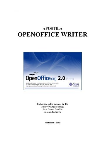 Writer - Apostila da FIEC