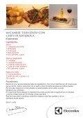 PECETO A LA PARRILLA con verduras grilladas - Electrolux - Page 2