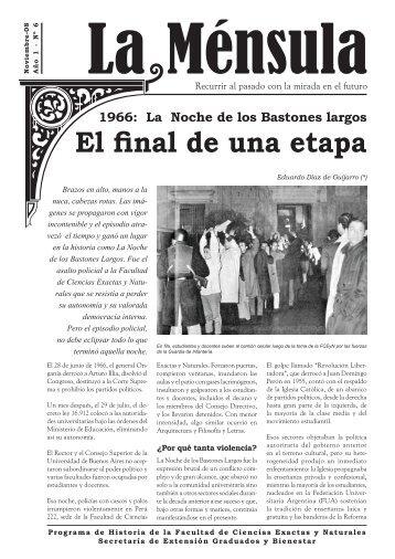 La Ménsula - Biblioteca Digital FCEN UBA - Universidad de Buenos ...