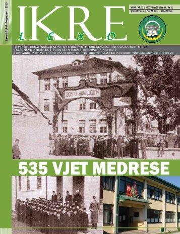 IKRE Nr:31 - Medreseja Isa Beu