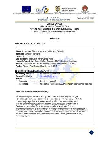 CURSOS LARGOS - Universidad Libre