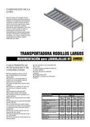 MOVIMENTACIÓN para LAVAVAJILLAS RT - Electrolux