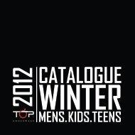 catálogo winter 2012 - Top Underwear
