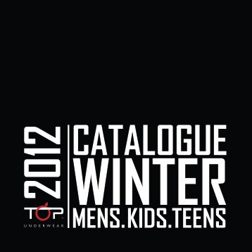 catálogo winter 2012 - Top Underwear