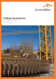 Catálogo de productos - ArcelorMittal