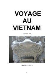 Vietnam 2004 - Les Carnets de voyage de Mireille.