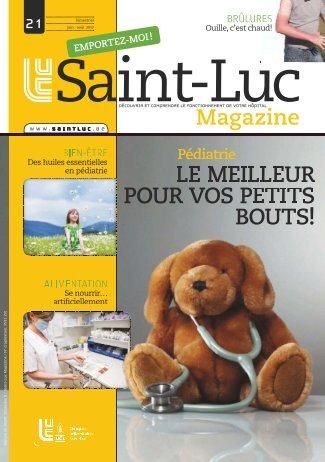 le meilleur pour vos petits bouts! - Cliniques universitaires Saint-Luc