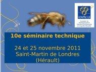 Diaporama de présentation du programme - ADAPRO-LR - ITSAP