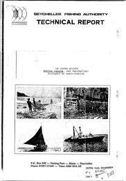 Le crabe girafe Ranina ranina, aux Seychelles : biologie et ... - IRD