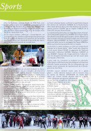 ARTS SPORTS VOYAGES - Mars 2008 - Atscaf