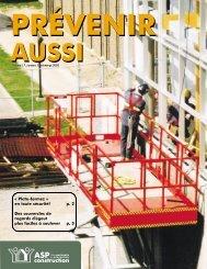 « Plate-formez » en toute sécurité! p. 2 Des ... - ASP Construction