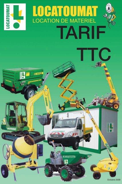 TARIF TTC - Locatoumat