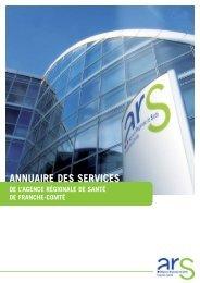 ANNUAIRE DES SERVICES - ARS Franche-Comté