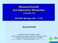 5.1.1 Bedeutung der Wasserkraft - Institut für Wasserwirtschaft ...