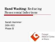 Hand Washing: Reducing Nosocomial Infections - International ...