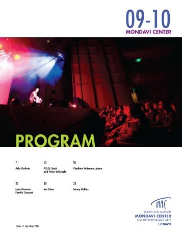 PROGRAM - Mondavi Center