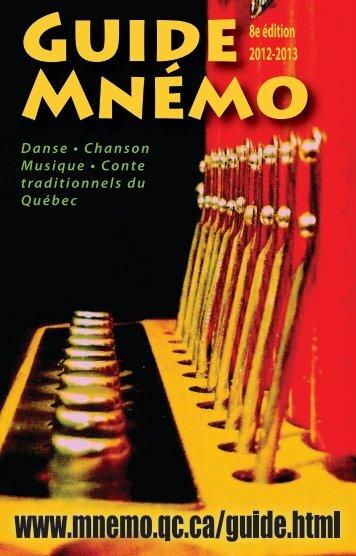 télécharger gratuitement en format pdf - Centre Mnémo