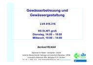 """Kap 3 Ziele und Aufgaben der Gew""""sserbetreuung.pdf - Institut für ..."""