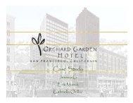 Orchard Garden Hotel - International Workspace Studies Program ...