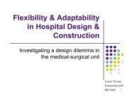 Flexibility & Adaptability in Hospital Design & Construction