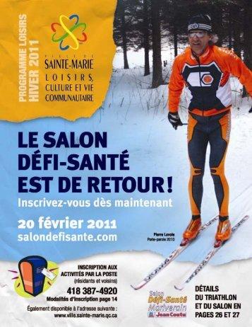 Loisirs, culture et vie communautaire - Ville de Sainte-Marie